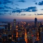 Fly (non-stop) in BUSINESS CLASS from New York, NY to Chicago,IL, for just US$ 416 (round-trip)